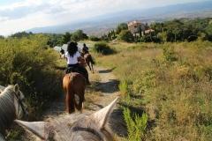 percorsi in natura a cavallo